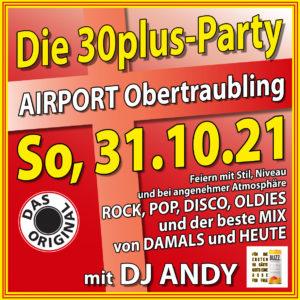 30Plus-Party mit DJ Andy